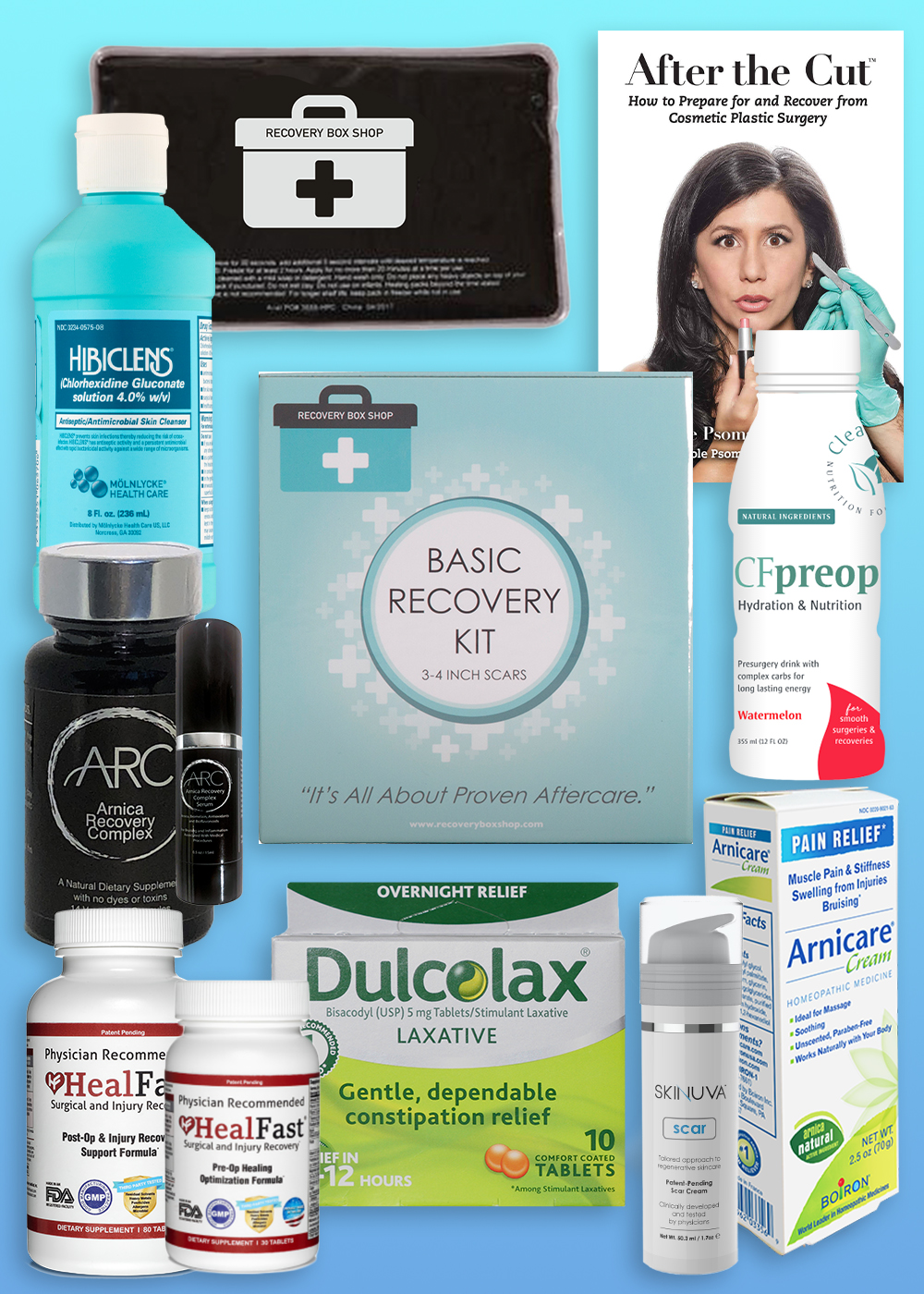 Basic Recovery Kit 3 4 Inch Scars